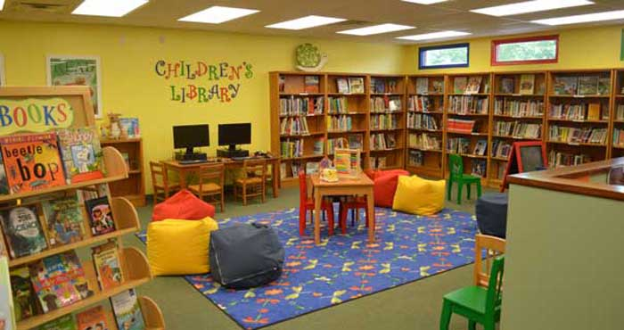 Childrens' Reading Area
